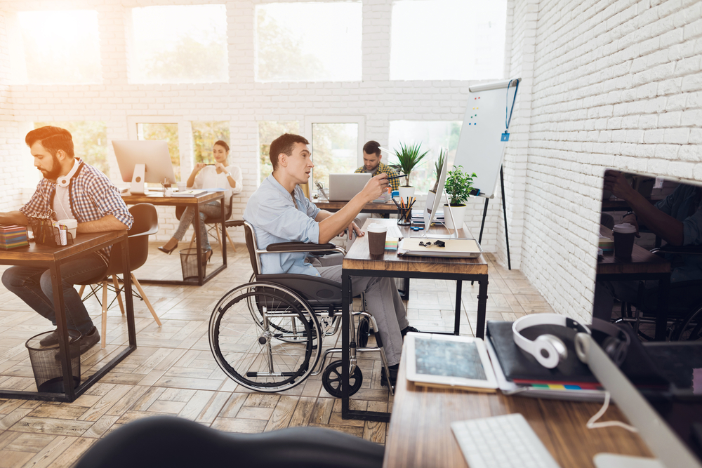 Accessible Access in Work